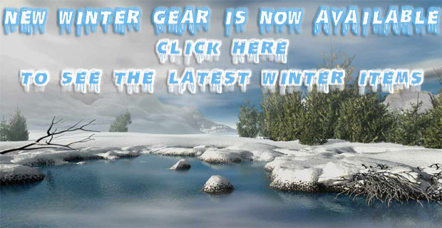 New Winter Gear Click Here!